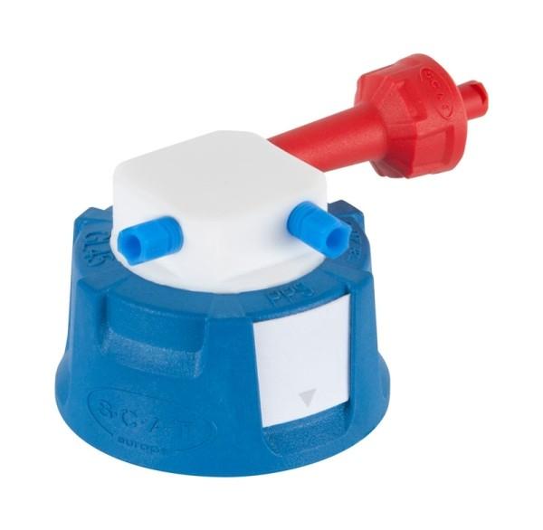 SafetyCap II, V2.0, GL45, 90° abgewinkelt