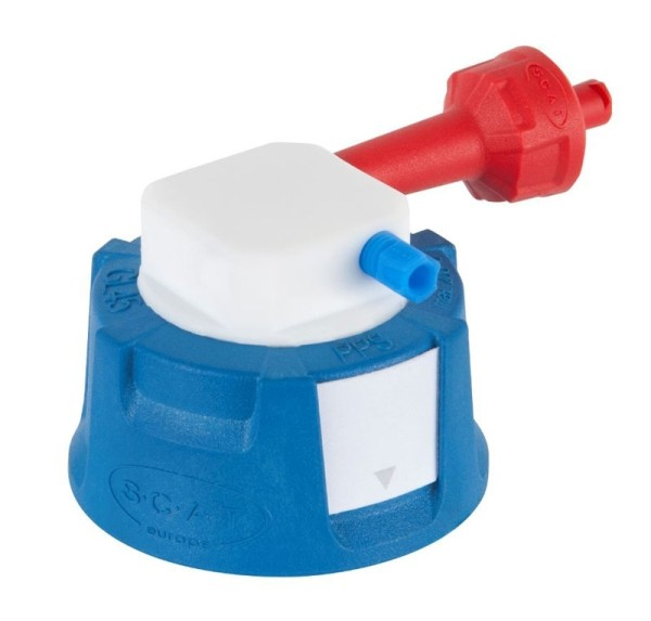 SafetyCap I, V2.0, GL45, 90° abgewinkelt