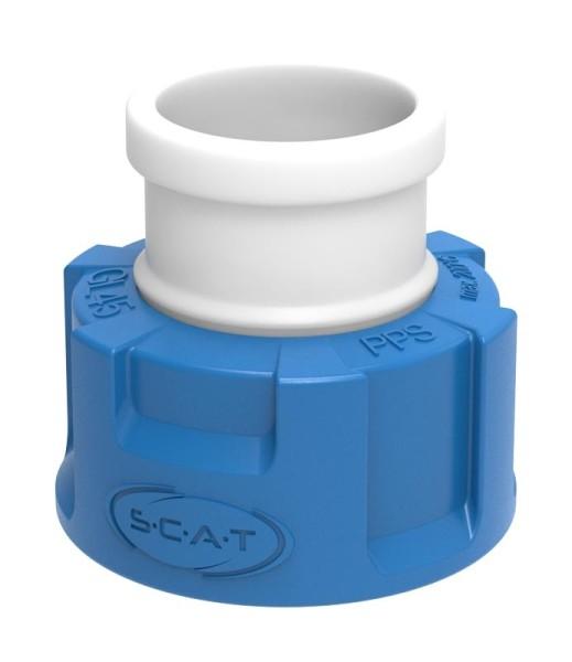 Adapter, für Schliff-Flaschen, Typ 1