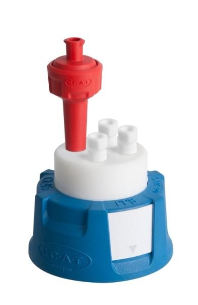 SafetyCap III, V2.0, GL45, präparativ