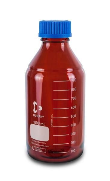 Laborflasche DURAN, GL45, 1 L, Typ 3