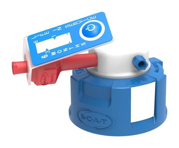 Safety Cap I, V2.0, GL45, 90° abgewinkelt