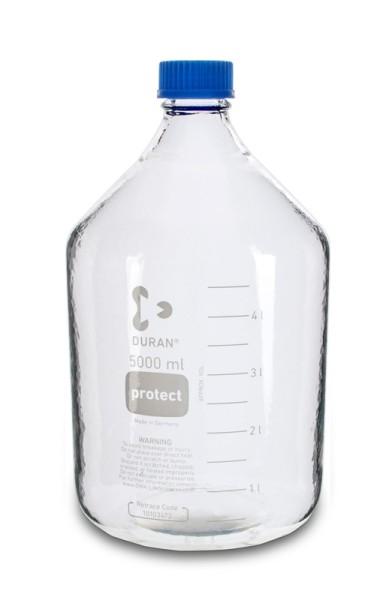 Laborflasche DURAN, GL45, 5 L, Typ 1
