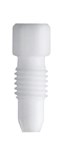 PTFE Fitting, 1,6 mmAD, weiss