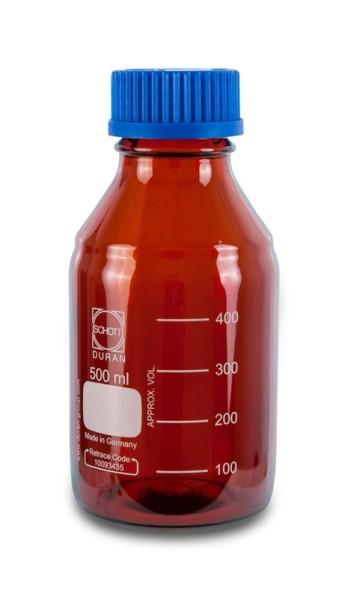 Laborflasche DURAN, GL45, 500 ml, Typ 4