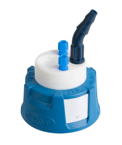 Safety Waste Cap, V2.0, GL45, Typ 1