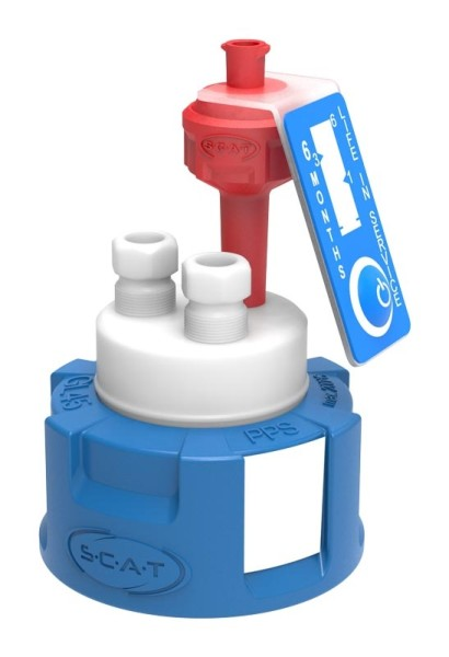 Safety Cap II, V2.0, GL45, präparativ, Typ 3