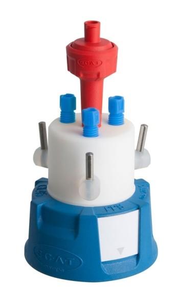 SafetyCapIII, V2.0, GL45, mit Absperrhahn