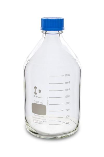 Laborflasche DURAN, GL45, 2 L, Typ 2