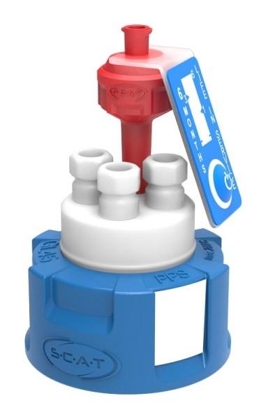 Safety Cap III, V2.0, GL45, präparativ