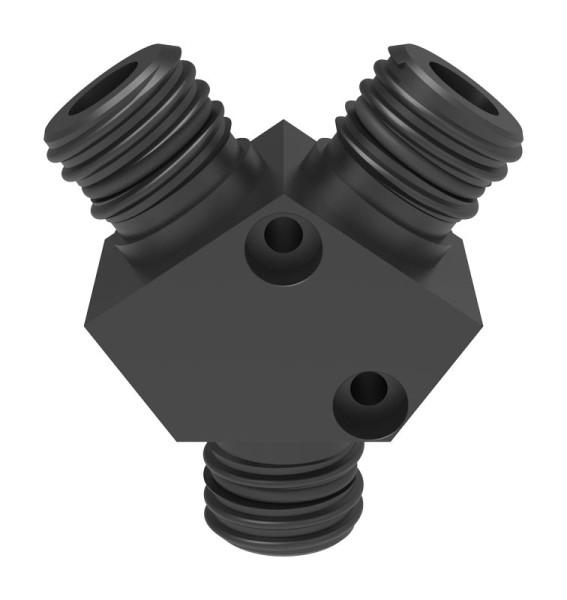 Verteiler, 3x GL25 (m)