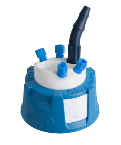 Safety Waste Cap, V2.0, GL45, Typ 2