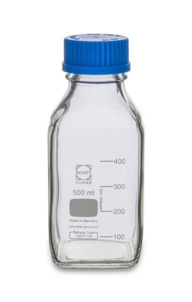Laborflasche DURAN, GL45, 500 ml, Typ 2